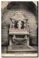 CPA Chartreuse De Montrieux Chapelle Des Reliques Autel De La Vierge - Chartreuse