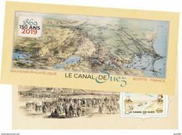 Bloc Souvenir Neuf FRANCE 2019 : 150 Ans Du Canal De Suez - Souvenir Blocks & Sheetlets