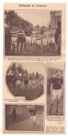 Orig. Knipsel Coupure Tijdschrift Magazine - Lokeren - Atletiek Wedstrijd Loopkoers , Winnaar Van Kraen - 1927 - Oude Documenten