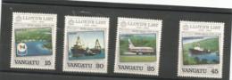 690/93 AVIONS Luxe    (clasbleucfavanua) - Vanuatu (1980-...)