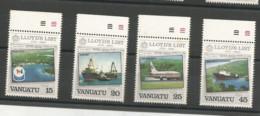 690/93  AVIONS Luxe Et Bdf   (clasbleucfavanua) - Vanuatu (1980-...)