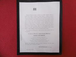 GENEALOGIE NOBLESSE DECES LOUIS JACQUES MAURICE CARDINAL DE BONALD 1870 - Obituary Notices