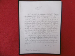 GENEALOGIE NOBLESSE DECES CHARLES PAUL HAY MARQUIS DE NETUMIERES 1869 - Obituary Notices