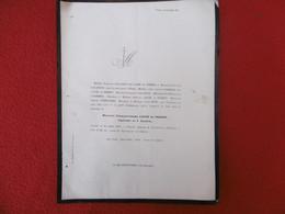 GENEALOGIE NOBLESSE DECES FRANCOIS JOSEPH LAUZE DE PERRET CAPITAINE AU 4ème ZOUAVE HOPITAL TIZI OUZOU 1871 - Obituary Notices