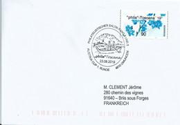 Vignette De Distributeur Inform - ATM - Fleurs - Myosotis - Phila-Toscana - 2011-... Covers