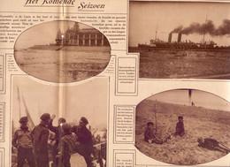 Orig. Knipsel Coupure Tijdschrift Magazine - Kust Oostende - Het Komende Seizoen - 1927 - Unclassified