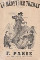 (VEND )le Ménétrier Thomas , Paroles Et Musique F PARIS - Partitions Musicales Anciennes