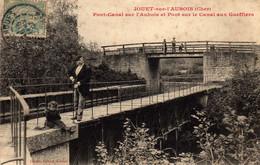 JOUET-sur-L'AUBOIS (Cher). Pont Canal Sur L'Aubois - Sonstige Gemeinden