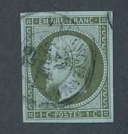 DV-8: FRANCE: Lot Avec N°11 Obl, Signé JF Brun - 1853-1860 Napoleone III