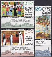 ISRAEL 1979 Mi-Nr. 808/10 ** MNH - Ongebruikt (met Tabs)