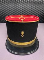 Képi Adjudant Légion étrangère Années 60 - Headpieces, Headdresses