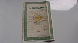DUNLOP  (obligation 300 Francs) 1978 - Non Classificati