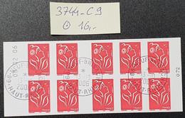 Carnet N° 3744-C9 Avec Oblitération Cachet à Date De 2006 Avec Coin Datée  TTB - Definitives