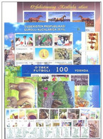 2012 Uzbekistan. Full Years. MNH ** - Uzbekistan