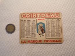 9/ Calendrier De 1929 - Cointreau Liqueur - Calendars