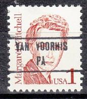 USA Precancel Vorausentwertung Preo, Locals Pennsylvania, Van Voorhis 853 - Prematasellado