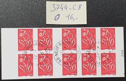Carnet N° 3744-C8 Avec Oblitération Cachet à Date De 2006  TTB - Definitives