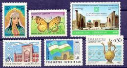 1992 Uzbekistan. Full Years. MNH ** - Uzbekistan