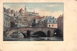 LUXEMBOURG - LE PONT DE GRUND  /ak536 - Postales