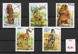 Préhistoire Mammouth Ours Cheval - Afghanistan N°xxxx à Xxxx 1998 O - Prehistóricos