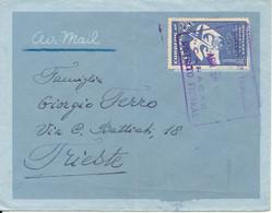 Venezuela Air Mail Cover Sent To Trieste 29-4-1950 Single Franked (received In Trieste 4-5-1950) - Venezuela