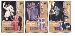Georgia. 2002 Georgian National Ballet. Mi 392 - 94 - Georgia