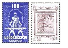 Georgia. 2002 Definitives. Mi 395 - 96 - Georgia