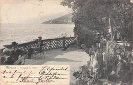 ABBAZIA - OPATIJA - TERRASSE AM PARK 1905 /ak668 - Croatia
