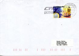 LUXEMBOURG. N°1419 De 1999 Sur Enveloppe Ayant Circulé. Euro. - Monnaies
