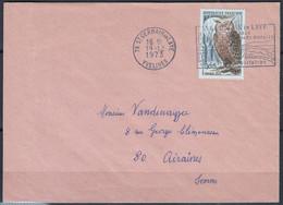 GRAND DUC   Y.et.T. Num 1694  SEUL Sur Enveloppe De 78 St GERMAIN En LAYE Postée Le 19 12 1973 Pour 80 AIRAINES - Marcophilie (Lettres)