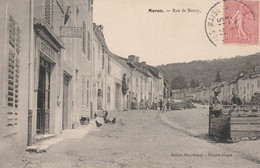 N°4993 R -cpa Maron -rue De Nancy- - Sonstige Gemeinden