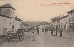 N°4994 R -cpa Moncel Sur Seille -grande Rue- - Sonstige Gemeinden