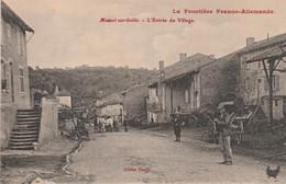 N°4995 R -cpa Moncel Sur Seille -l'entrée Du Village- - Sonstige Gemeinden