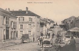 N°4998 R -cpa Maron -place Du Centre Et Rue De Toul- - Sonstige Gemeinden