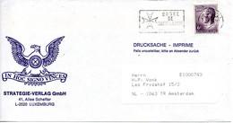 LUXEMBOURG. Flamme Sur Enveloppe Ayant Circulé. Ordre De Saint-Lazare. - Organisaties