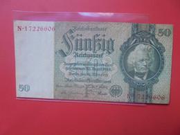 3eme REICH 50 MARK 1933 Circuler (B.20) - 1933-1945: Drittes Reich