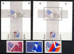 NAGORNO KARABAKH HAUT-KARABAKH 1993, Indépendance, 3 Valeurs, Et 2 Blocs, Neufs / Mint. Rh556 - Armenia