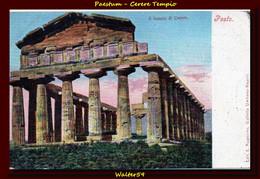 1901 C. Italia Italy Postcard Paestum Pesto Cartolina Nuova Unused Ed.Ragozzino - Italy
