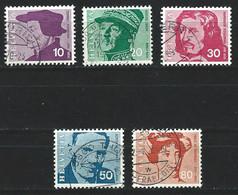 XX-/-574-. YVERT - N° 841/45,  Cote 2.50 €, Obl. ,  IMAGE DU VERSO SUR DEMANDE - Usati