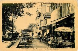 D 32 - BESSIERES - La Terresse Café La Mairie L' église -  BEAU 6824 - Altri Comuni