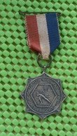 Medaille :Netherlands  -  K.N.V . Ijsclub Oostwoud / Utrecht , 1963 - Paises Bajos
