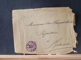 80/317 DEVANT DE LETTRE BELGE ROULERS  1894 - 1883 Leopold II