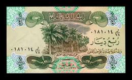Irak Iraq 1/4 Dinar 1979 Pick 67 Printed In Switzerland SC UNC - Iraq