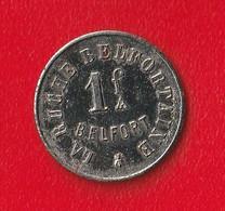 """1 F """" LA RUCHE BELFORTAINE """"  BELFORT - Monetary / Of Necessity"""