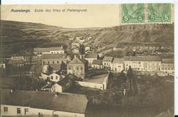 LUXEMBOURG - RUMELANGE - Ecole Des Filles Et Partengrund - Postales