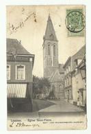 5c. Armoirie Obl. Sc LESSINES Sur CV Du 22 Mars 1903 Vers La France Et Griffes IMPRIME + Non Admis Au Transport, ... - Otros