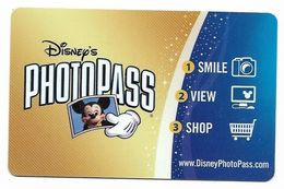 Disney  U.S.A.  Photo Pass, No Value,  # Dphoto-1 - Gift Cards