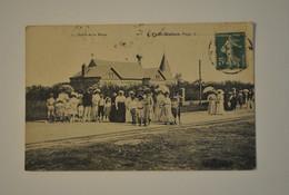 80 Somme Fort Mahon Sortie De La Messe - Fort Mahon