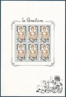 Bloc Complet LA GRAVURE 2020  - TTB ** - Sheetlets