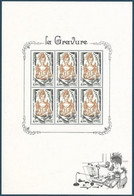 Bloc Complet LA GRAVURE 2020  - TTB ** - Neufs